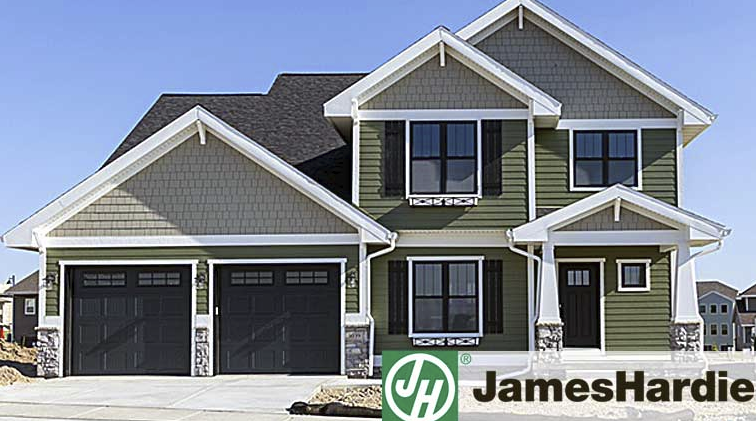 James hardie service under siding