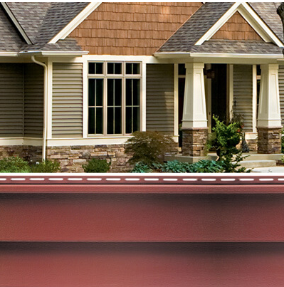 Quest SIding with house photo